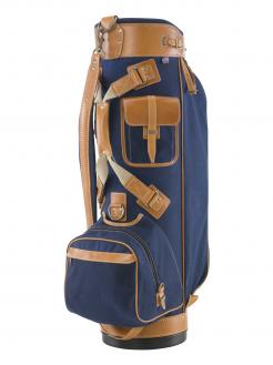 Belding Bushwacker Cart Bag Blue/Tan