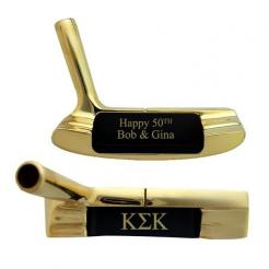 Personalized 14k Gold Plated Putter