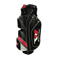 Wishon Cart Bag showing pockets