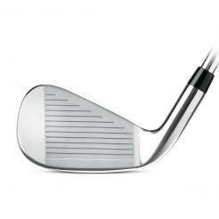 XV Pro Irons showing the length and height of club face