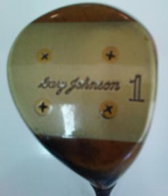 Gary Johnson Persimmon Right Hand Driver