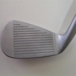 Wishon 565MC Forged Irons showing the club face