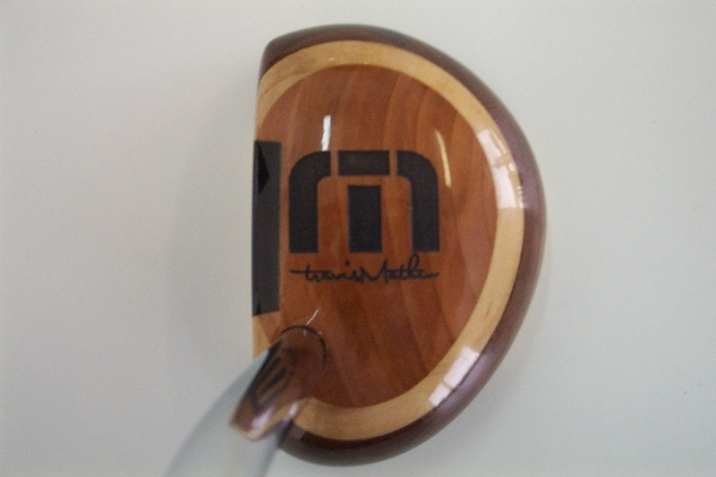 Personalized Earthwoods Mallet Putter