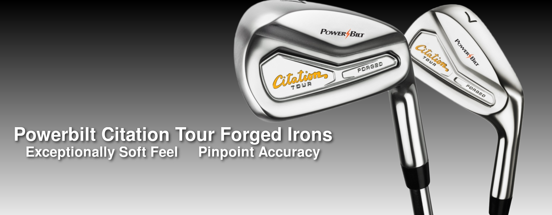 Powerbilt Citation Tour Forged Irons