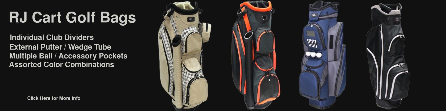 RJ Cart Golf Bags