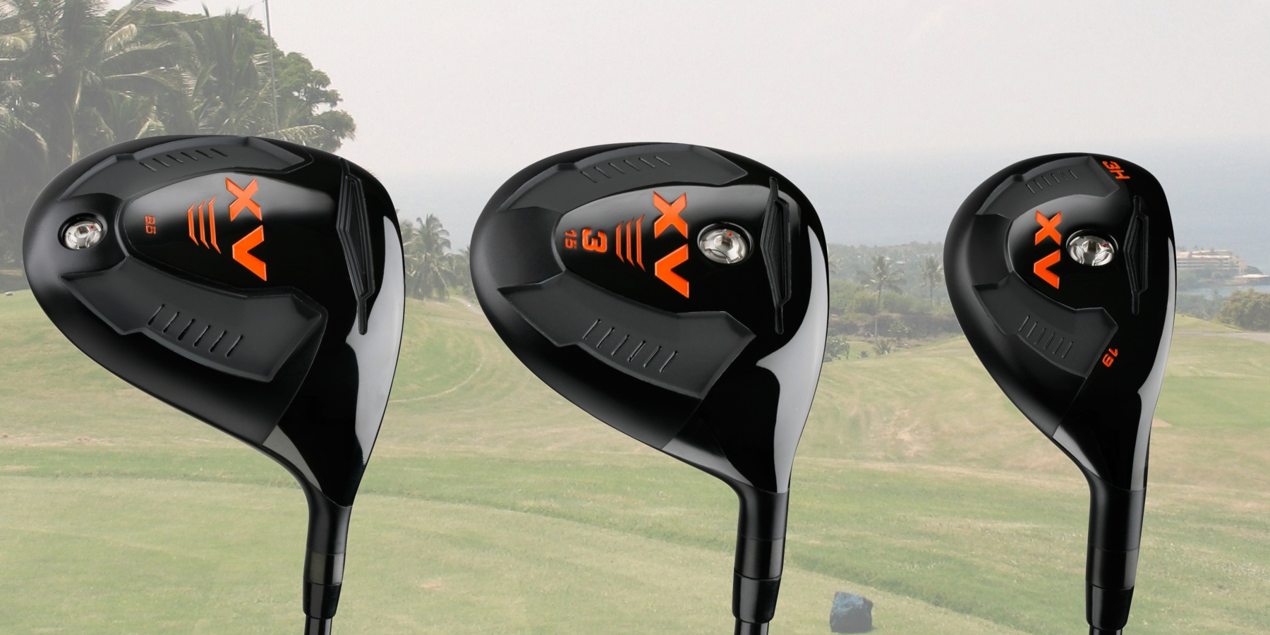 XV Driver, Fairway Wood and Hybrid