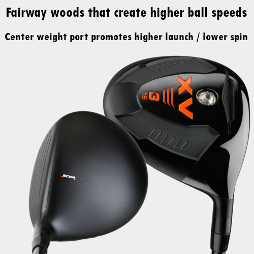 XV Fairway Woods